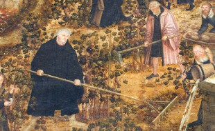 Lucas Cranach the Younger, 'Vineyard of the Lord' (1569)